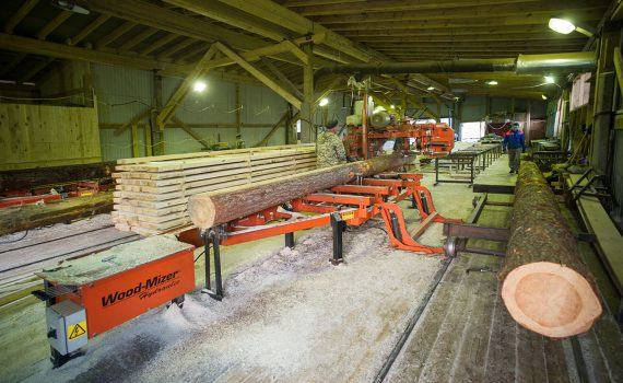 Forestry and technology woodworking industries