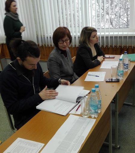 Итоги защиты дипломных проектов в группе 61о