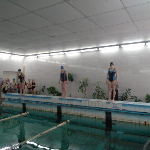 Городские соревнования по плаванию
