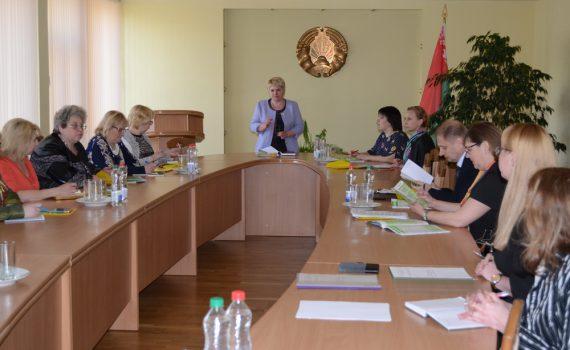 Заседание методического объединения главных бухгалтеров учреждений среднего специального образования Витебской области