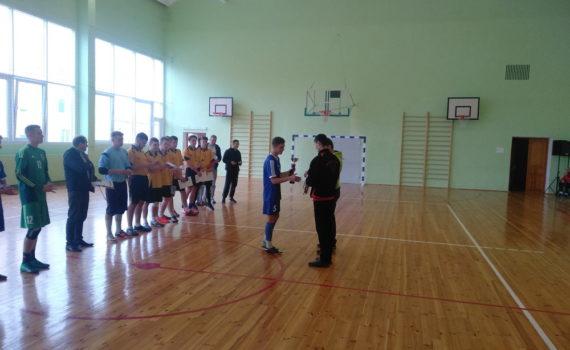 I место по мини-футболу в областной спартакиаде