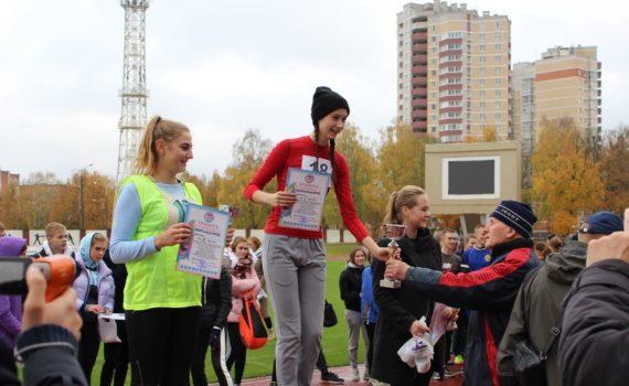 I место в легкоатлетической эстафете среди девушек в городской спартакиаде