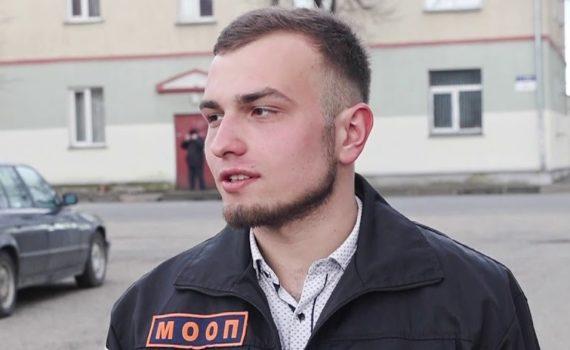 Владислав Спивак удостоен нагрудного знака «За отличие в охране правопорядка»