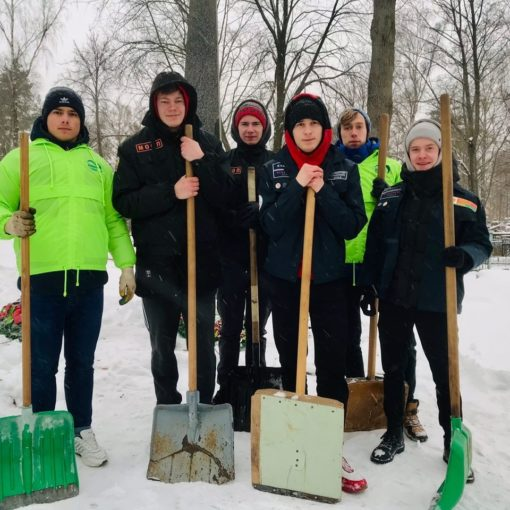Республиканский челлендж «Уберём снег вместе»