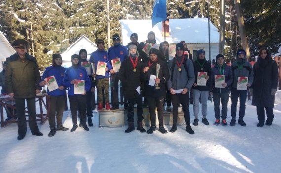 II место на республиканских соревнованиях по зимнему многоборью «Защитник Отечества»  (17-19 февраля 2021 года)