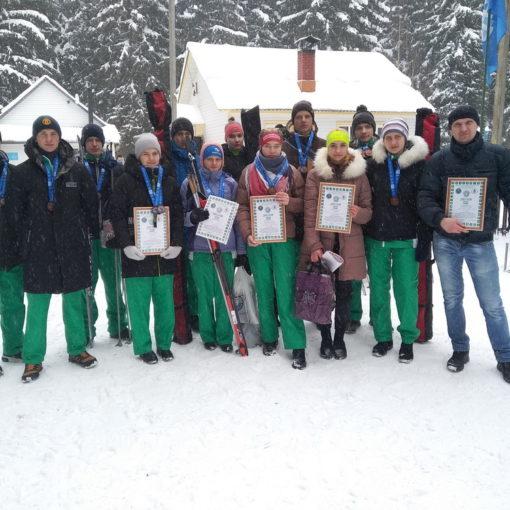 III место на республиканских соревнованиях по зимнему многоборью «Здоровье»  (10-12 февраля 2021 года)