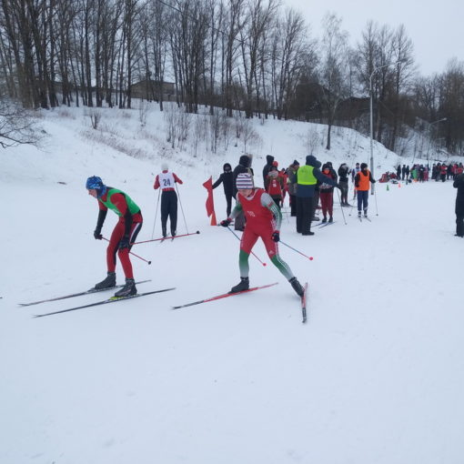 I место в районной лыжной эстафете среди учащихся учреждений высшего и среднего специального образования  (13 февраля 2021 года)