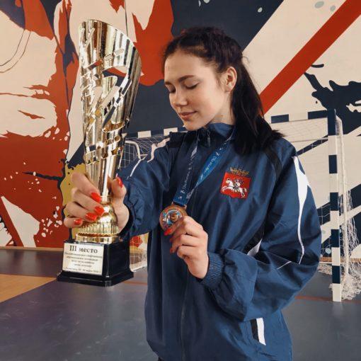 III место на республиканских соревнованиях по волейболу среди девушек (22-26 марта 2021 года)