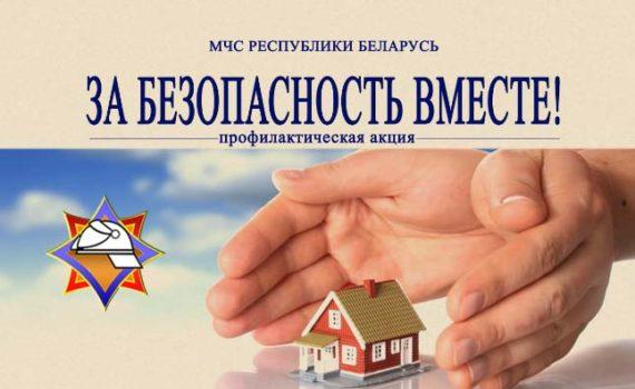 Профилактическая акция «За безопасность вместе!»