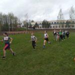 II место в областных соревнованиях по легкоатлетическому кроссу» среди девушек