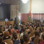 Встреча учащихся с сотрудником Октябрьского РОВД г.Витебска