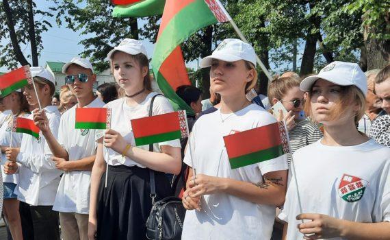 Участие в торжественном открытии улицы Гагарина в городе Витебске