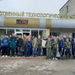 """Работа в сельскохозяйственных отрядах в ПК """"Ольговское"""""""