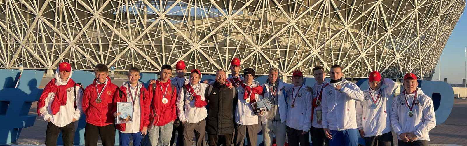 II место по футболу, в рамках Спартакиады Союзного государства (г. Волгоград)